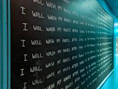 MrUlster 20180105 - Dublin - IMG_20180105_090821 (Mr Ulster) Tags: chalkboard dublin ireland bathroom
