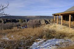 bcnp96 (Chuckcars) Tags: colorado montrose usa bcnp black canyon national park visitor center winter