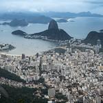 Veduta di Rio dal Cristo Redentore