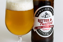 Bitter & Twisted (Crisp-13) Tags: beer harviestoun bitter twisted bottle class golden ale zesty aromatic citrus crafted with twist