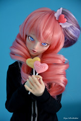 ✩ *゚゚・In Love・*゚゚✩ (Nyx ☆) Tags: angel philia type j anime doll bjd ball jointed photography manga pink drops