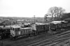 Ropley Locomotive Yard 2nd December 2017 (davids pix) Tags: class 03 03197 d2197 08 08288 d3358 11 12049 12082 ropley locomotive shed preserved diesel shunters monochrome 2017 02122017