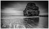 Marsden In Mono (Steven Peachey) Tags: mono marsdenrock canon seascape uk northeastcoast northeastengland canon6d ef1740mmf4l lee09gnd explored explore