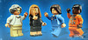 A close up view of the minifigures' box art (WhiteFang (Eurobricks)) Tags: lego ideas space designer scientist astronaut rocket science females ladies licensed satellite spaceship printed nasa