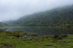 Lers emboirat (fotosmeteo) Tags: estiu water meteo muntanya summer aigua pirineus paisatge ariège landscape france fog green lake llac lac naturalesa nature natura boira mountain