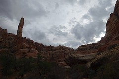 Druid Arch (Sean Munson) Tags: nationalpark canyonlands canyonlandsnationalpark hiking utah needlesdistrict theneedlesdistrict arch landscape