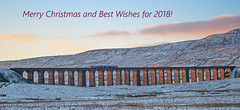 Christmas Greetings! (DWH284) Tags: ribbleheadviaduct