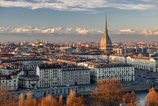 Turin - Mole Antonelliana dal Monte dei Cappuccini