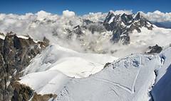 On the ridge (Prism@) Tags: chamonix montblanc alpes hautesavoie
