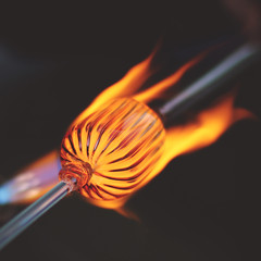 343 : 365 : VI (Randomographer) Tags: project365 square 365 vi glassblowing glassforming technique hot heat flame melt shape create burn fire glass 343