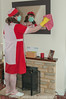 Red Overall & Long Check Tabard 2 06 (Maid Janet) Tags: tabard sissy charwoman domestic housekeeper housewife rubbergloves sissymaid cleaning skivvy cleaner crossdressing putzfrau maid dusting char housekeeping overall housework tranny chores crossdresser housemaid chambermaid scrubber marigolds