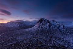 Buachaille Etive Mor Sunrise (Chris_Hoskins) Tags: wwwexpressionsofscotlandcom scottishlandscapephotography scotland winter herdsman glencoe dawn scottishlandscape goldenhour beinnachrulaiste rivercoupall buachailleetivemor scottishwinter landscape