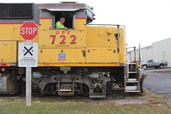 Dave (Laurence's Pictures) Tags: train rail railway railroad transportation freight rockford illinois kd line cnw gcu chicago northwestern union pacific emd