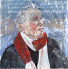 # 234 2017-12-23 (h e r m a n) Tags: herman illustratie tekening 10x10cm tegeltje drawing illustration karton carton cardboard kunst art portrait portret sjawl sjaal shawl scarf man male