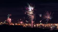 """Happy New Year !"" (helmet13) Tags: d800e raw happynewyear fireworks longexposure night panorama newyearseve celebration ild aoi peaceaward platinumpeaceaward world100f"