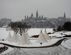 The Seven Tipis at the the Canadian Museum of History in Hull (Gatineau), Quebec (Ullysses) Tags: canadianmuseumofhistory muséecanadiendelhistoire hull gatineau quebec winter hiver firstnations premièrenations seventipis septtipis