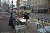 SACRAMENTO--308 arr K/10th Street OB (milantram) Tags: electricrailtransport railsystemssacramento sacramento rtmetro streetcars trolleys trams lightrail blueline