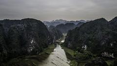 A grey day in Ninh Binh (voxpepoli) Tags: thànhphốninhbình ninhbình vietnam vn