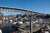 granville street bridge (n.a.) Tags: granville street bridge marina seabreeze walk vancouver bc canada