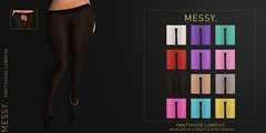 Pantyhose Lowrise @ Anybody (Dalillieh) Tags: pantyhose nylon sl second life messy ripped lowrise clothes clothing omega applier slink maitreya belleza