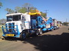 Bell's Road Train (RS 1990) Tags: australia australian amusement ride carnival funfair bells roadtrain intow packed