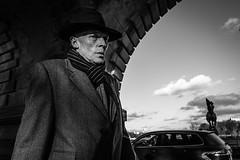 Agent (Mustafa Selcuk) Tags: 2017 paris france fujifilm blackandwhite bnw bw monochromatic monochrome noiretblanc neb nb siyahbeyaz sb man street streetshooter streetphotography streetphotographer trenchcoat