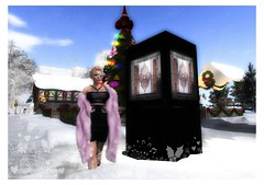 Goodbye 'til next year North Pole Sleigh Ride Adventure (Paige Snowpaw) Tags: secondlife sl northpolesleighrideadventure christmas winter snow santaclaus fatherchristmas christmastree