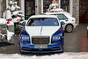 Rolls-Royce Wraith (Nico K. Photography) Tags: rollsroyce wraith blue white lancia delta integrale combo switzerland supercars luxury snow nicokphotography stmoritz