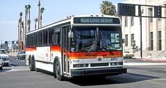 Southern California RTD: 1130 on Long Beach Boulevard southbound at Third Street (Mega Anorak) Tags: bus neoplan an440a3 southerncalifornia rtd longbeach