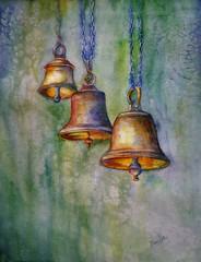 Campanas (benilder) Tags: acuarela aquarelle watercolor watercolour merrychristmas bells campanas cloches glocken benilde