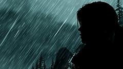 """Nothing left behind"" (L1netty) Tags: pc games gaming reshade screenshot tombraider 4k squareenix crystaldynamics character srwe videogame laracroft lara girl people night rain silhouette sky"