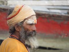 varanasi 2017 (gerben more) Tags: saddhu beard man people portret portrait india varanasi benares