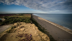 Photo of Dunwich Beach, Suffolk, August 2016