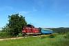 The Romanian Desiro (Krali Mirko) Tags: bdz train diesel locomotive faur 55143 doyrentsi bulgaria transport railway landscape бдж влак локомотив дизел дойренци жп транспорт