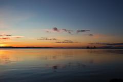 E79B0082 (Arne J Dahl) Tags: sunset danmark denmark limfjorden ship water waterfront skiveren nordjylland