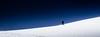Skiing on  Razor Blades (Beppe Rijs) Tags: landschaft berge schnee wetter winter blau weis himmel struktur austria alps alpen österreich blue air luft pov snow white way weg gipfel peak weather berghang slope quiet leise minimalismus minimalism silhouette field feld schneefeld snowfield einsamkeit loneliness sehnsucht yearning longing