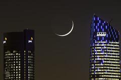 La Luna sobre Madrid (juan_maynar) Tags: nocturna night nocturnas nikon juanmaynar torresmadrid luna madridyluna madrid