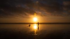 Ocean Shores (ValeTer_) Tags: nikond5000 oceanshores olympic usa washingtonstate ocean water sunset pacificocean