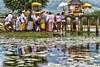 Balinese ceremony (Bali Tourist Guide) Tags: bali temple bedugul hindu ulundanu beratanlake