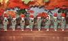 Miyako Odori - Shika Odori 1923 (2) (Blue Ruin 1) Tags: geiko geisha kyoto miyakoodori cherrydance shikaodori deerdance shishiodori 鹿踊 japanese japan taishoperiod 1920s 1923 postcard