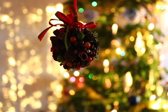 Christmas day (viviandemotte) Tags: ornament christmasornaments decoration ball lighting subset sunlight canon eos1300d canoneos1300d photography love wintertime tree christmastree winter christmasday christmas
