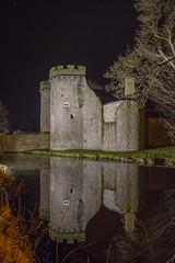 Whittington Castle night reflections (foto.pro) Tags: whittington castle night dark sky reflections christmas december