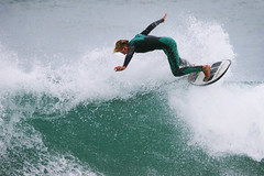 Surfer ~ Fitzroy Beach (whitebear100) Tags: surf surfing surfers fitzroybeach newplymouth northisland newzealand nz 2017
