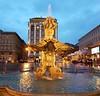 Roma again... Fontana del Tritone, capolavoro del Bernini.  Triton Fountain, by the Baroque sculptor Gian Lorenzo Bernini. (Antónia Lobato) Tags: roma fountain fontana tritone bernini sculpture