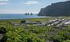 Vík í Mýrdal (einisson) Tags: vík mýrdalur reynisdrangar mountain lupine houses sky sea iceland suðurland outdoor landscape nature einisson canon70d