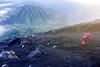 semeru mount hikers (sydeen) Tags: indonesia semeru team mountain top hiking climb summit gunung nature blue people sky travel male landscape outdoor work success tourism high rock asia scenic activity trip adventure extreme risk mount trek volcano tourist climbing trekking morning sand hike