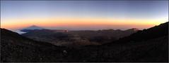 TEIDE- REFUGIO ALTAVISTA (heegle) Tags: tenerife spain iphone6 panoramic mountain altavista refugio montaña atardecer sombra pico canarias españa nubes vistas