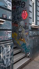 HH-Wheatpaste 3533 (cmdpirx) Tags: hamburg germany reclaim your city urban street art streetart artist kuenstler graffiti aerosol spray can paint piece painting drawing colour color farbe spraydose dose marker stift kreide chalk stencil schablone wall wand nikon d7100 paper pappe paste up pastup pastie wheatepaste wheatpaste pasted glue kleister kleber cement cutout