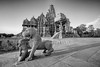 echo of a distant past (dr_zook81) Tags: khajuraho temple architecture carving erotic stone ancient travel explore morning sunrise wide canon sculpture art corridor platform structure prayer mono monochrome black white shadow india mp shrine statue animal people old beautiful soul soulful