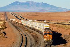 BNSF 6804 East: Winslow, Arizona (Z-Trains) Tags: bnsf arizona seligman subdivision sub apache railroad apacherailroad seligmansubdivision northernarizona trains train alco mlw c420 c424